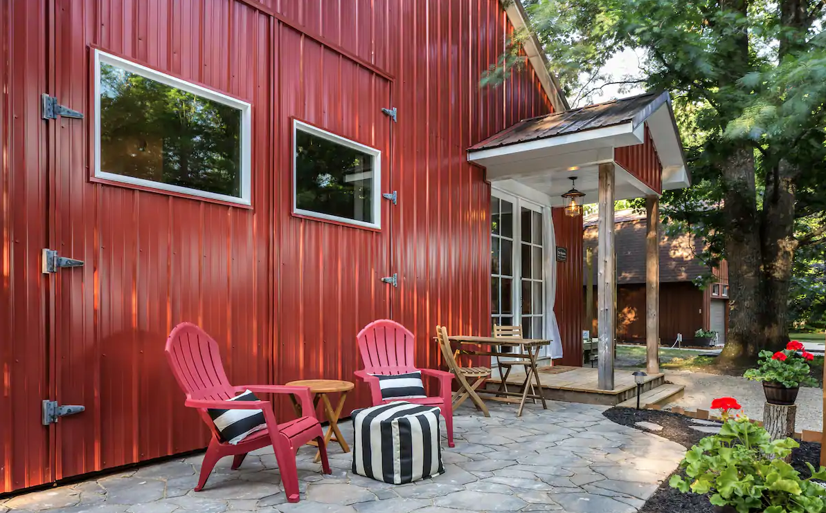 Image of The Little Red Homestead Airbnb