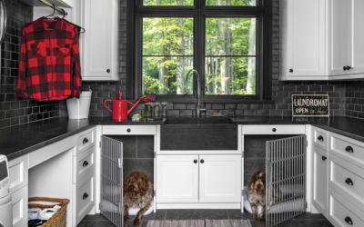 Laundry Room Ideas for Northern Michigan Homes (and Pets!)