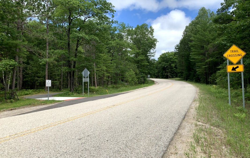 Burt Lake Trail Moves Forward with Route to Mackinaw City