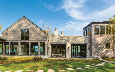 Northern Michigan Cottage Transformed Into Elk Lake Escape