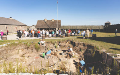 The Incredibly Cool Excavation of Colonial Michilimackinac