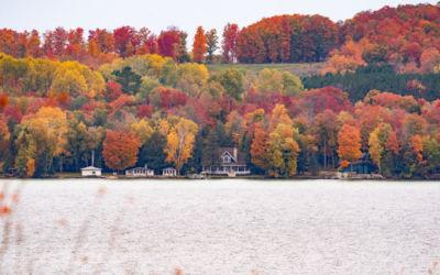 Fall Color at Torch Lake