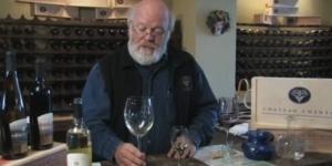 Mark Johnson of Chateau Chantal Demonstrates Wine Tasting
