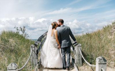 Natural Splendor at a Homestead Resort Wedding in Glen Arbor