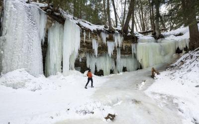Explore the U.P.'s Spectacular Eben Ice Caves Near Marquette