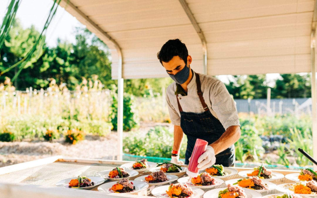 Chef Call Inspires with Local Organic Pop Up Dinners