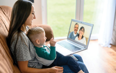 Five Fun Ways To Stay Connected to Kids and Family Virtually