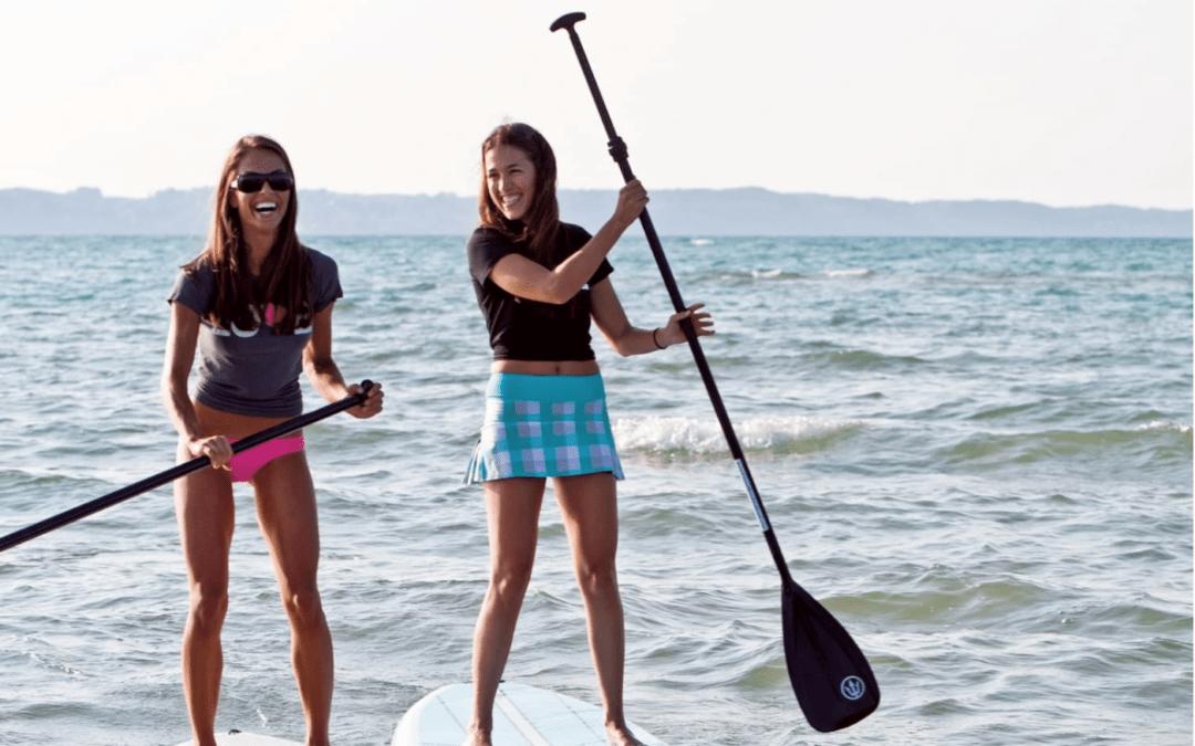 paddleboard, grand traverse bay, sup, women's sup