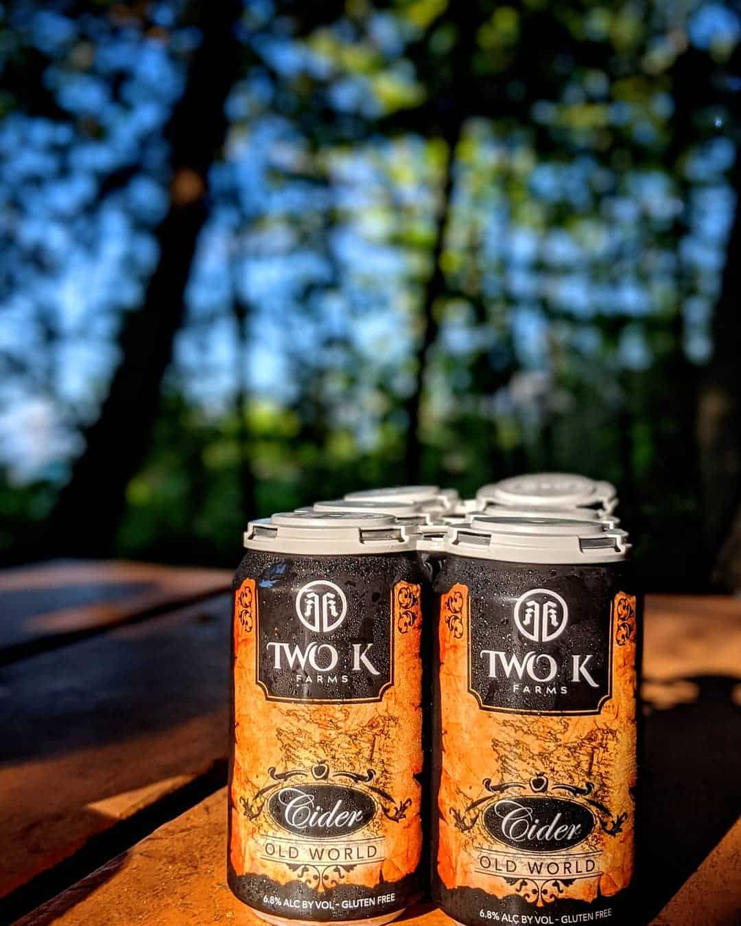 Old World Cider from Two K Farms in Suttons Bay.