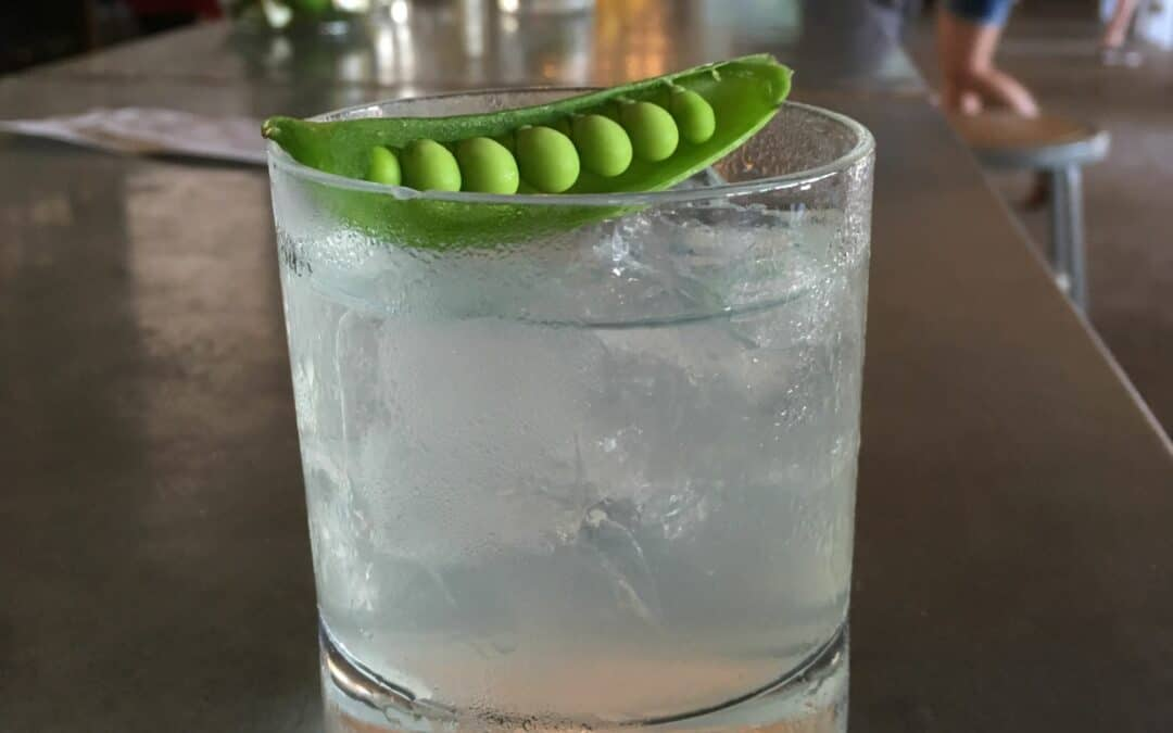Peas Out Cocktail