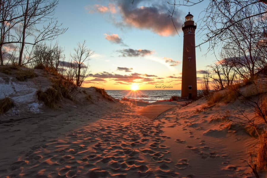 Photo of the Week of Little Sable Point Lighthouse