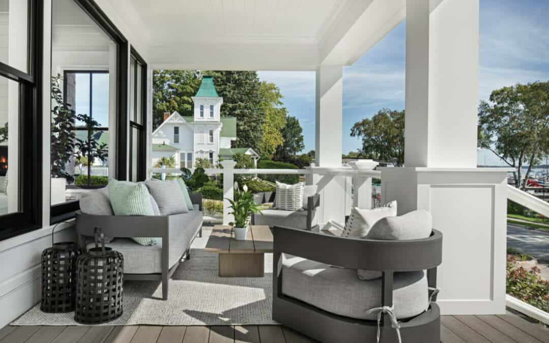 Northern Michigan's Prettiest Porches to Inspire Your Front Stoop
