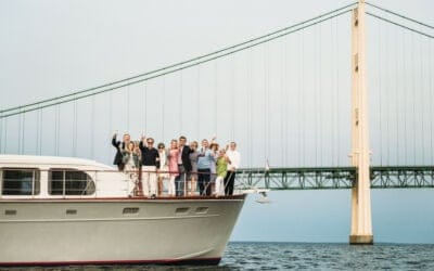 Perfectly Planned Mackinac Island Dinner Party & Sunset Cruise
