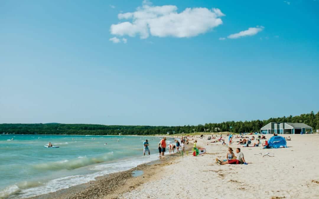 Petoskey State Park beach