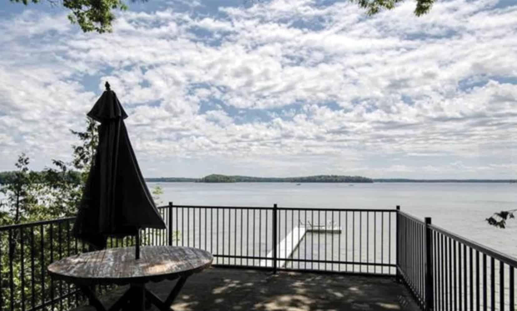 Traverse City home on the lake.