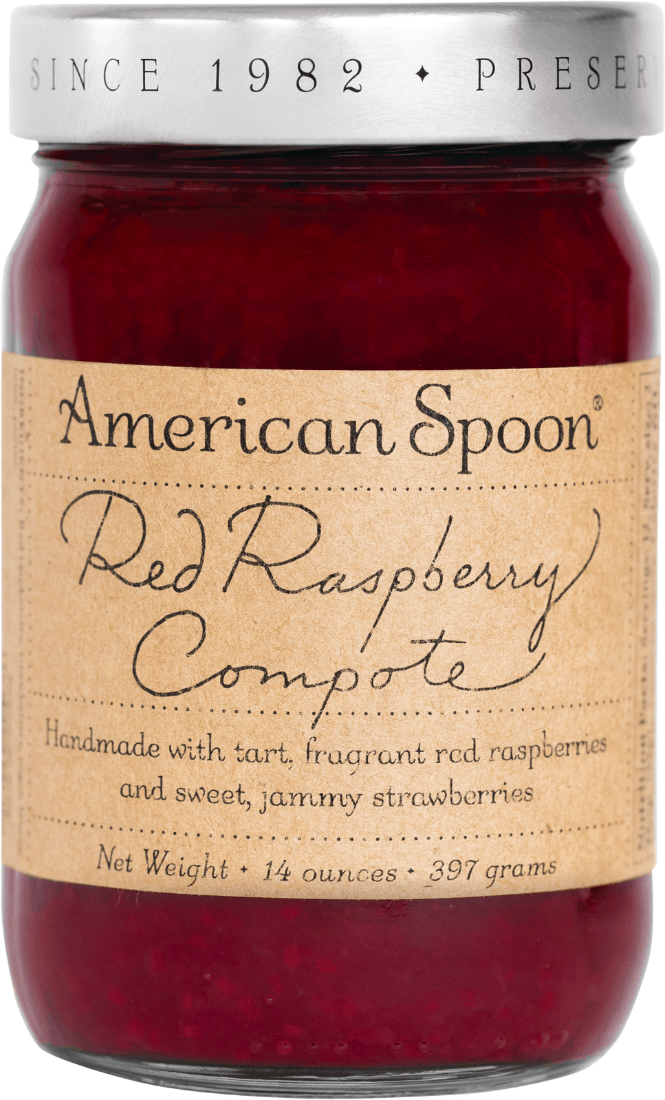 American Spoon Red Raspberry Compote.