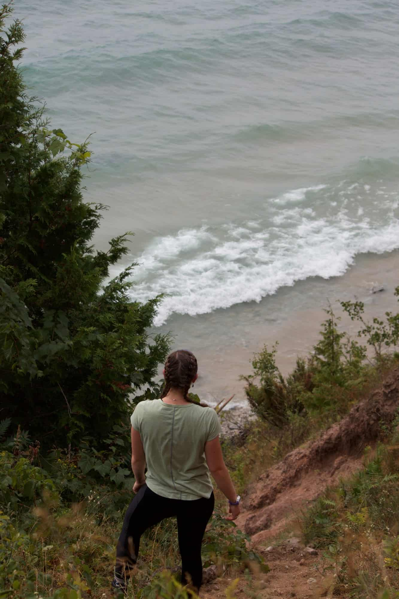Day hiking on South Manitou Island