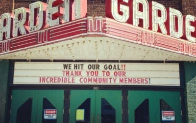 Frankfort's Garden Theater Hits $2.1 Million Campaign Goal
