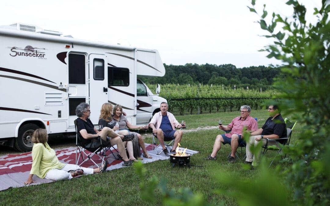 RV Camping in Northern Michigan