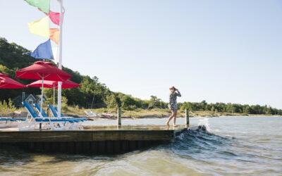 "This Lake Michigan Resort Puts the ""Relax"" in Beach Vacations"