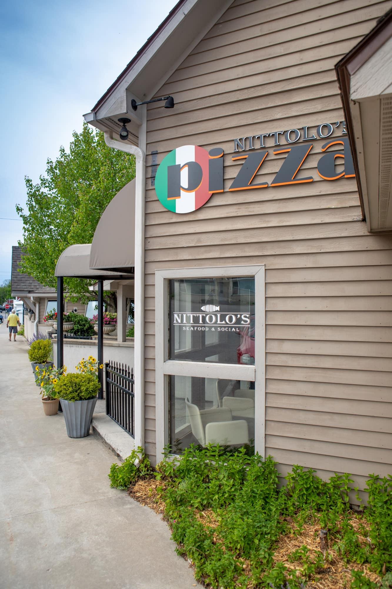 Nittolo's Seafood & Social and Nittolo's Pizza in Lake Leelanau, MI