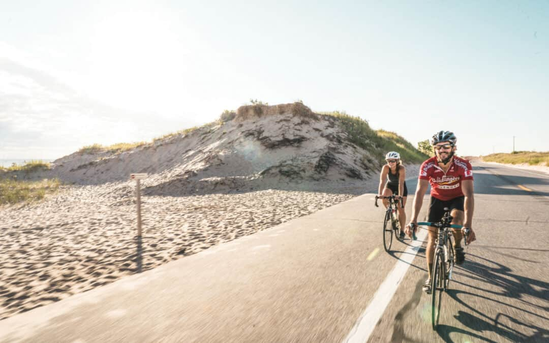 Don't Miss this Summer Cycling Trip Through Scenic Ludington
