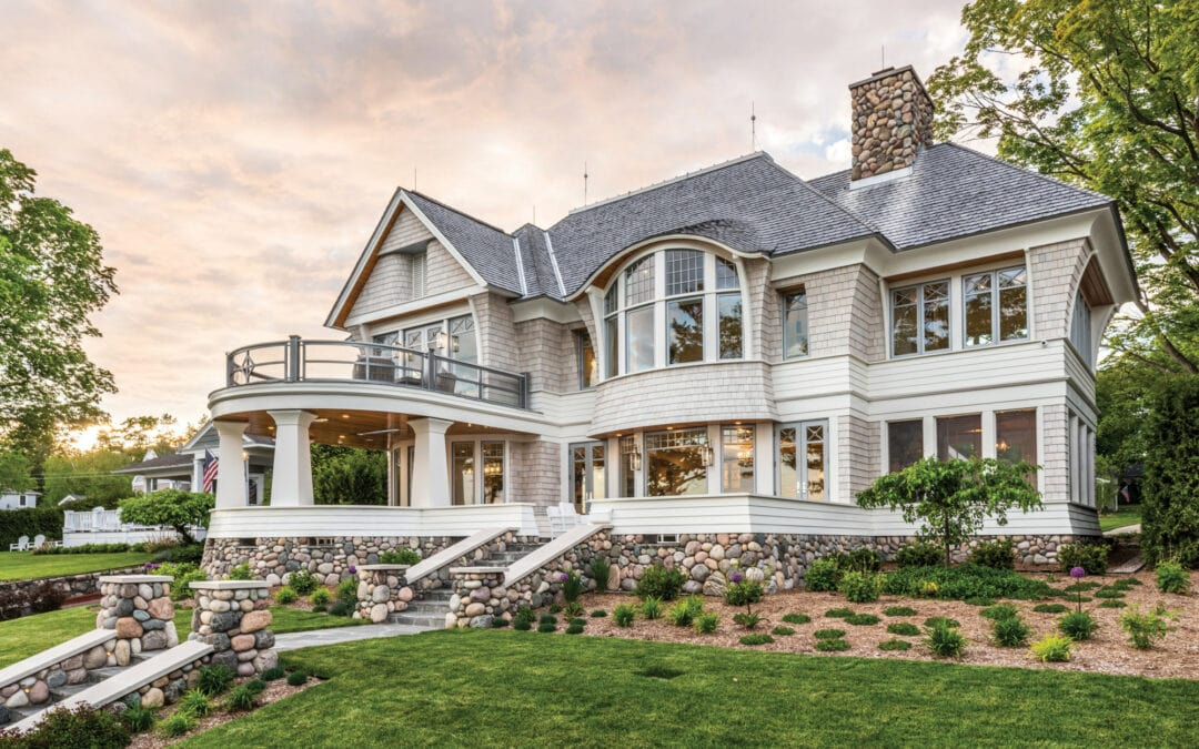This Historic, Coastal-Style Harbor Springs Home is a Piece of Art