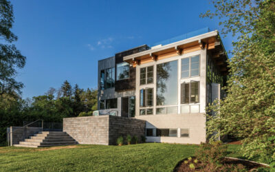 Bay Views & Modern Design at Cocooning House on Old Mission Peninsula