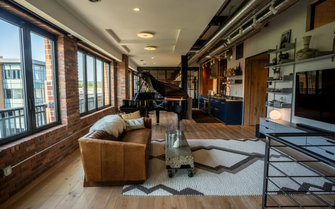 Take a Look Inside this Urban Loft on Traverse City's Front Street