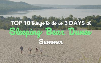 10 Things to Do in 3 Days at Sleeping Bear Dunes: Summer Fun