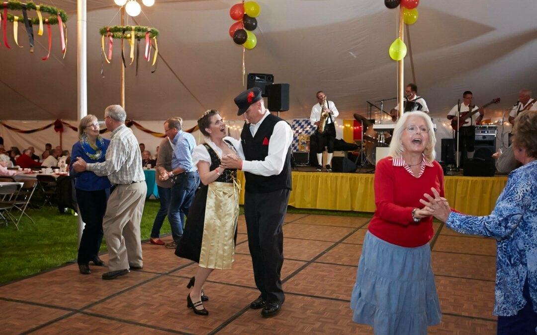 Germanfest in Traverse City Dancing