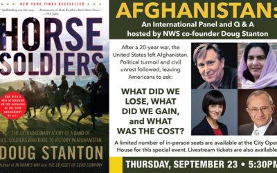 "Doug Stanton on ""Horse Soldiers"" Revisit & Traverse City Event"