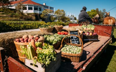 Mackinac Island Farm-to-Ferry Thrives at Grand Hotel & Mission Point