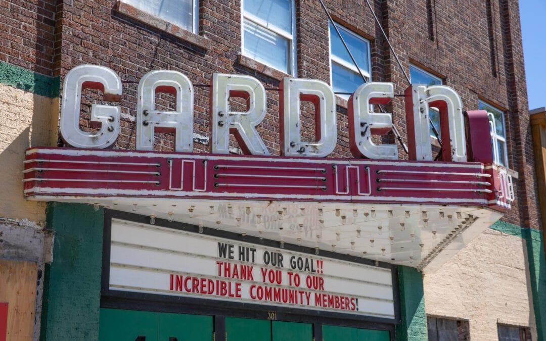The Garden Theater in Frankfort Michigan