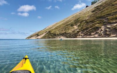 Leelanau by Kayak: 5 Favorite Lake Michigan, River & Lake Paddles