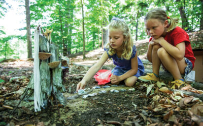 Go Hiking in Traverse City & Discover Mystical Fairy Houses