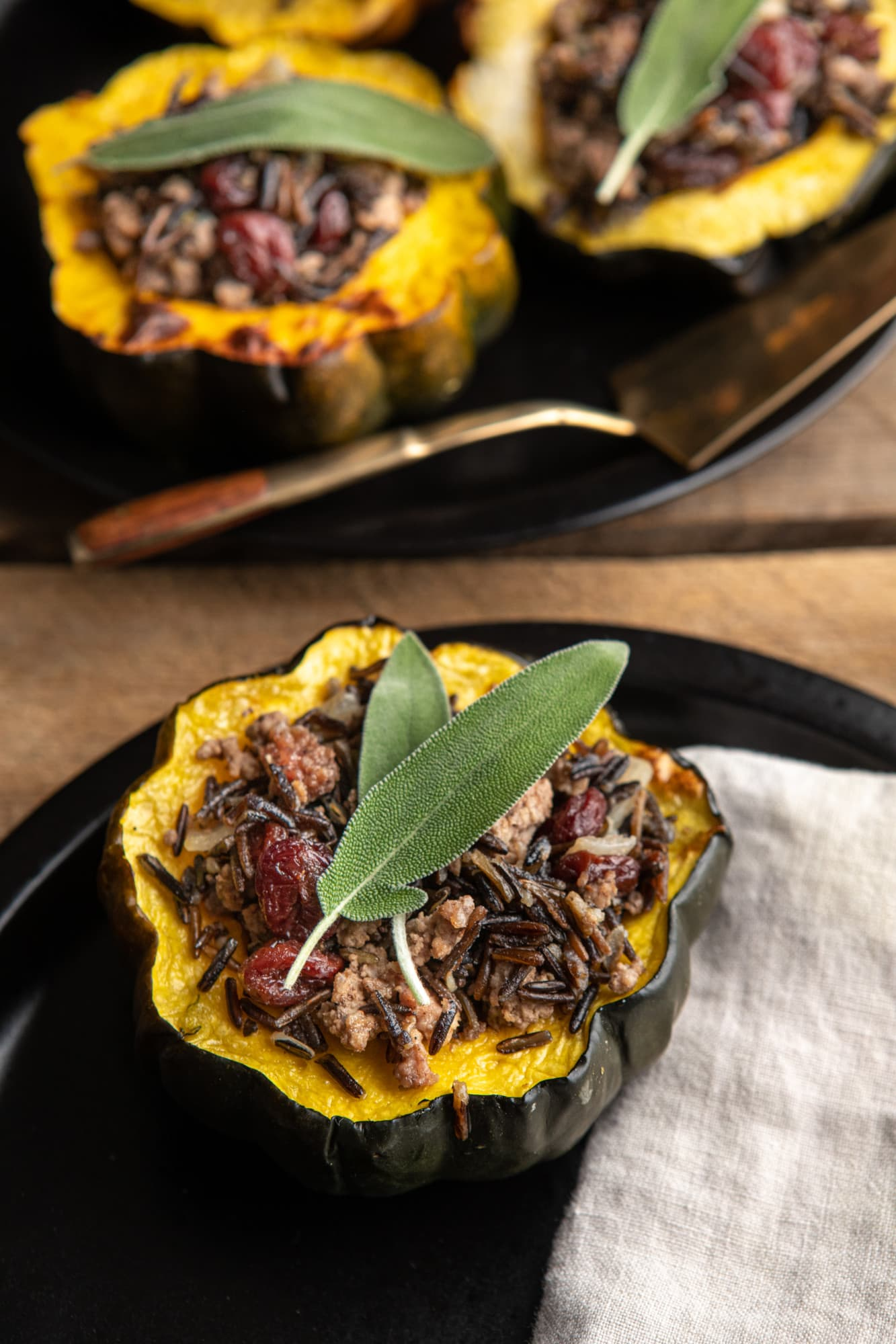 Stuffed squash from Stacey Brugeman